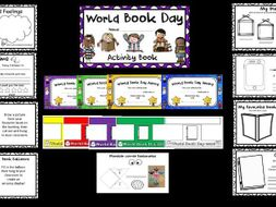 World Book Day Activity Booklet