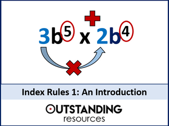 Index Rules 1 - An Introduction to Indices and Basic Index Laws