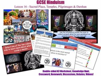 GCSE Hinduism - L16/20 [Hindu Temples, Shrines, Sites of Pilgrimage, Worship in Nature] Darshan