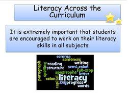 Literacy Across the Curriculum Presentation