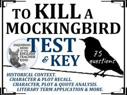 To Kill a Mockingbird Test & Key