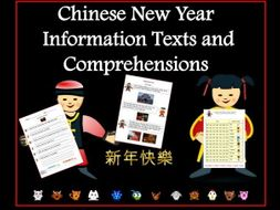 Chinese New Year - Texts and Comprehensions