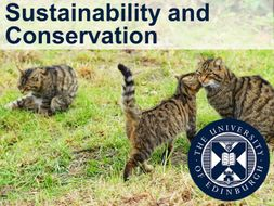 Sustainability and Conservation