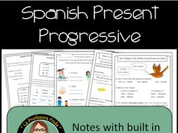 Present Progressive in Spanish, Activities