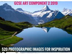 GCSE Art Exam 2019. Component 2. 520 Images of nature for inspiration.