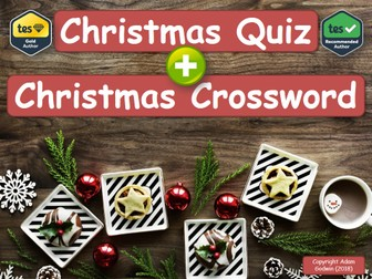 psychology christmas quiz crossword pack by godwin86 teaching resources tes