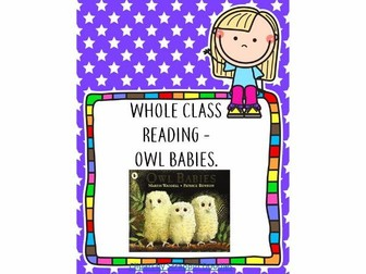 Whole Class Reading - Owl Babies