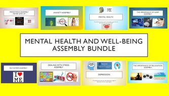Mental Health & Well-Being Assembly Bundle