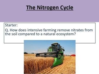 AQA A-Level Biology The Nitrogen Cycle