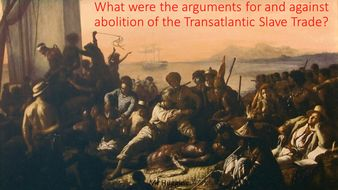 Card Sort: Abolition of the Slave Trade Debate