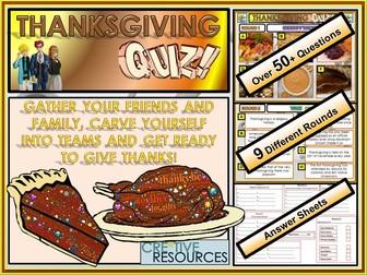 Thanksgiving Quiz - FUN/C8/QZ/32