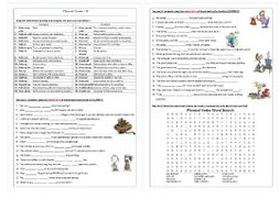 Phrasal Verbs Beginning with M: Worksheet / Revision by