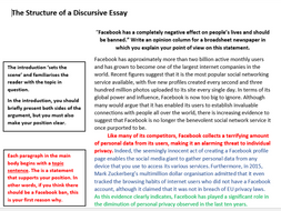 english discursive essay format