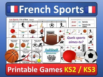 Le Sport (Sports in French) Games