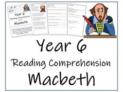Macbeth Reading Comprehension Activity