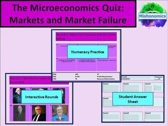 Economics Quiz - A Level Economics, GCSE Economics