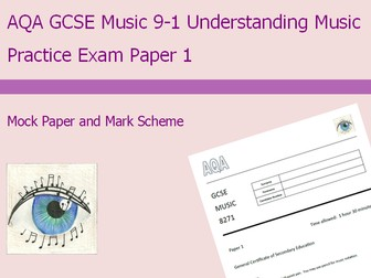 Practice Exam Paper 1 for AQA GCSE Music