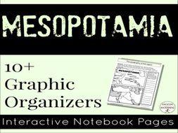 Mesopotamia: Interactive Notebook Graphic Organizers for Ancient Mesopotamia