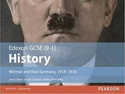 The Weimar Republic 1918-1929 Edexcel GCSE History 1-9