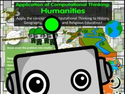Computational Thinking Poster: Humanities