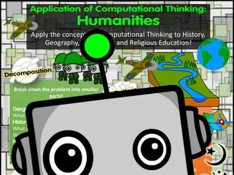 Computational Thinking Poster: Humanities