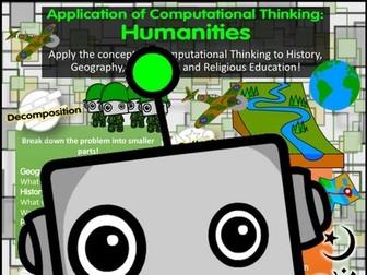 Computational Thinking in Humanities