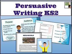 English- Persuasive Writing lessons- KS2