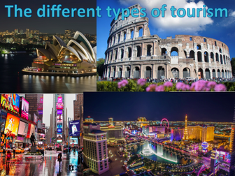 KS3 GEOGRAPHY SOW - Tourism BUNDLE