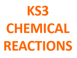 Revision Mat - Chemical Reactions