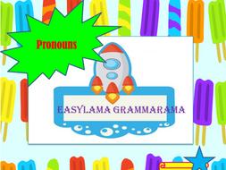 Easylama Grammarama-Pronouns
