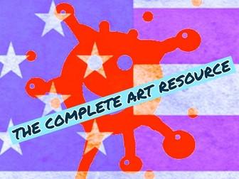 ART. COMPLETE ART RESOURCE BUNDLE