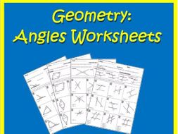 Angles Review Worksheets