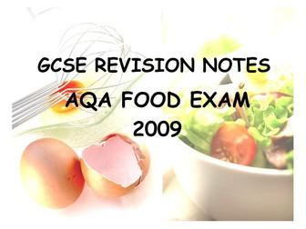 Food Technology GSCE AQA
