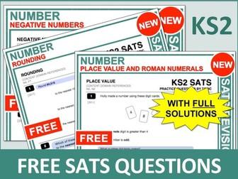 Maths SATs Bundle (Number)