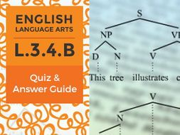 L.3.4.B - Quiz and Answer Guide