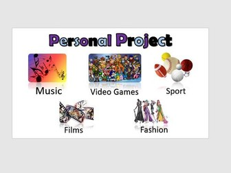 ICT Functional Skills Project 'Personal Topic'
