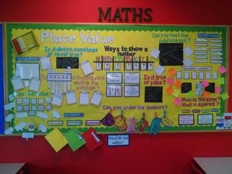 Maths Working Wall - Focus - reasoning KS2