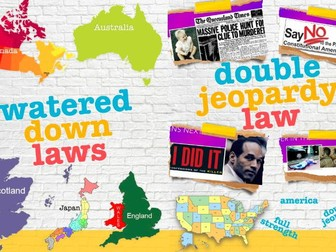 Double Jeopardy ~ Criminal Law ~ America vs. Other Countries ~ 70 Slides