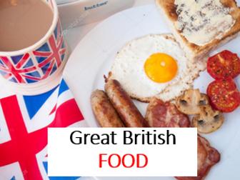 ESL British Food Lesson