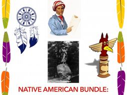 Native Americans: A Bundle of Resources!