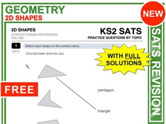 KS2 Maths (2D-Shapes)