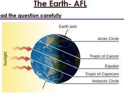KS3 The Earth six mark question