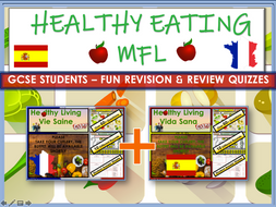 Healthy Eating MFL GCSE Quiz