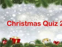 Christmas Quiz 2019-  Premium Deal or No Deal Quiz