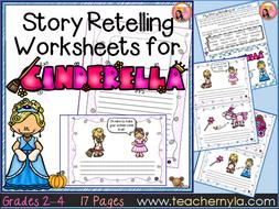 Cinderella - Fairy Tale Retelling Worksheets