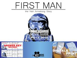 First Man Movie Guide | Questions | Worksheet (PG13 - 2018)