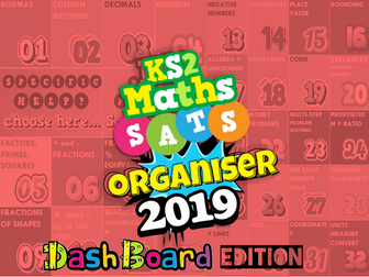 2019 KS2 SATs Revision Ultimate 15-in-1 Maths Organiser