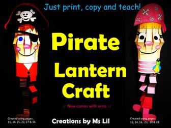 Pirate Craft ::  Pirate Activities  ::  Fine Motor crafts