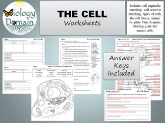 The Cell Worksheets