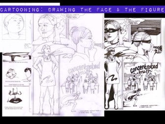 Cartooning: Drawing the face and figure